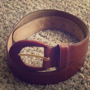 Nordstrom Aniline Cowhide Leather Belt- 9238 Small